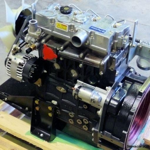 01/145217 Двигатель в сборе Perkins RE/RJ/RG, Engine complete 1104C-44T turbo 100bhp-85amp