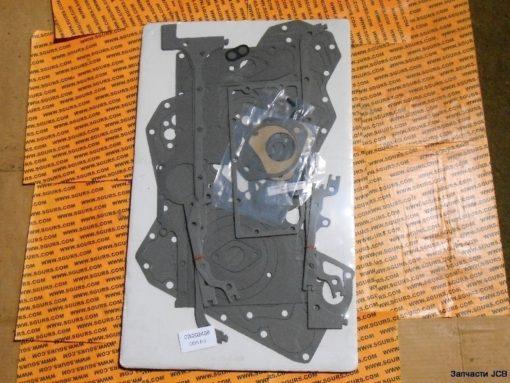 02/202408 Комплект прокладок нижней части двигателя Perkins AA и AB, Kit-gasket, bottom