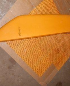123/02469 крыло заднее левое, Fender left hand YELLOW