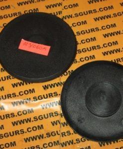 123/06014 направляющая аутригера нижняя, Pad, lower wear, colour black