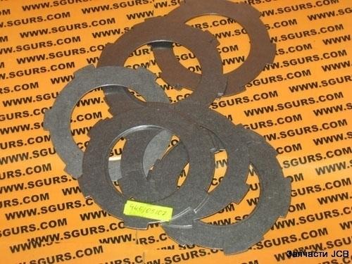 445/05107 Фрикцион зубчатый металлический КПП, COUNTER PLATE