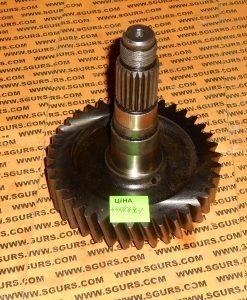 445/64301 Вал шестерня КПП 38 зубьев на JCB 3CX, 4CX, Gear 38 TOOTH