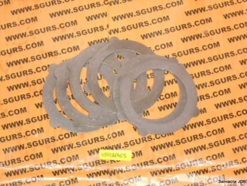 450/20403 прокладка металлическая диференциала на JCB 3CX, 4CX, Plate counter