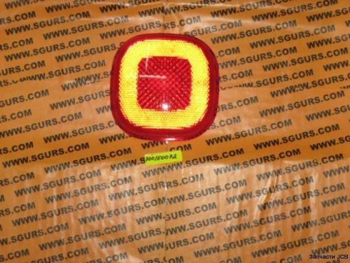 700/50072 стеклянный плафон заднего фонаря красный СТОП, Lens Red rear position/stop
