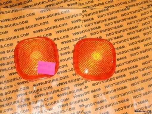 700/50073 Стекло поворотов заднего фонаря (оранжевое), Lens, Amber, direction indicator
