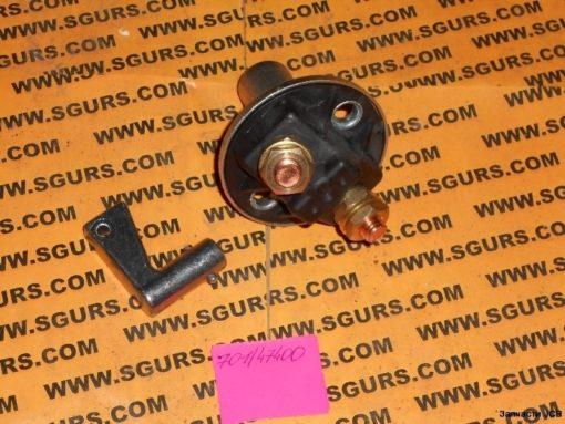 701/47400 Выключатель массы, массаотключатель с ключем (701/47401), Switch, isolator 150A 24V DC, (Supplied cpl with Key 701/47401)
