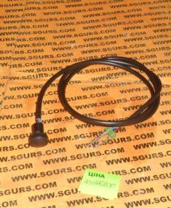 701/49800 кнопка-переключатель с кабелем черная на барашку розпределителя, (P) (S) SWITCH - PUSH BUTTON