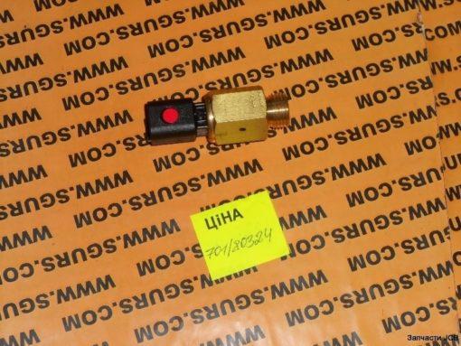 """701/80324 Датчик температуры масла КПП на JCB 3CX, 4CX, Switch oil temp 5/8""""UNF Deutsch connector"""