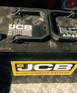 729/10655, 729/10655A, 729/10647, 729/11655, 707/05100, 708/10060 Оригинальная стартерная аккумуляторная батарея для спецтехники JCB, Аккумулятор JCB 126 Ач, Wet Battery