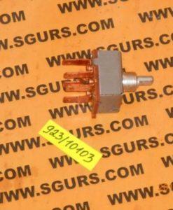 923/10103 Переключатель скоростей вентилятора печки, кондиционера 4 позиции, Switch, rotary, 4 position