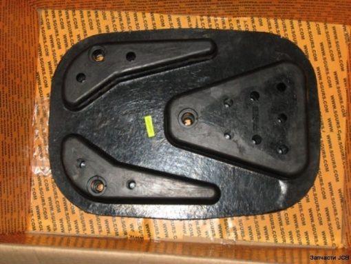 980/88215 Резиновая подушка стабилизатора (лапа) аутригера JCB 3CX, Pad street rubber